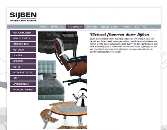 Great fabulous voor sijben wooncentrum in roermond heeft ivengi de nieuwe website ontwikkeld de - Mobel holland venlo ...