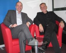 Robert Hogervorst (l) en Ron Wiertz (r)